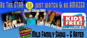 Big Laughs MILD Family Show - Kids FREE @ Big Laughs Theater | Barton City | Michigan | United States