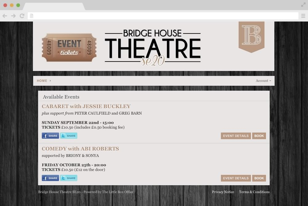 Box Office Ticketing Software - SeatAdvisor