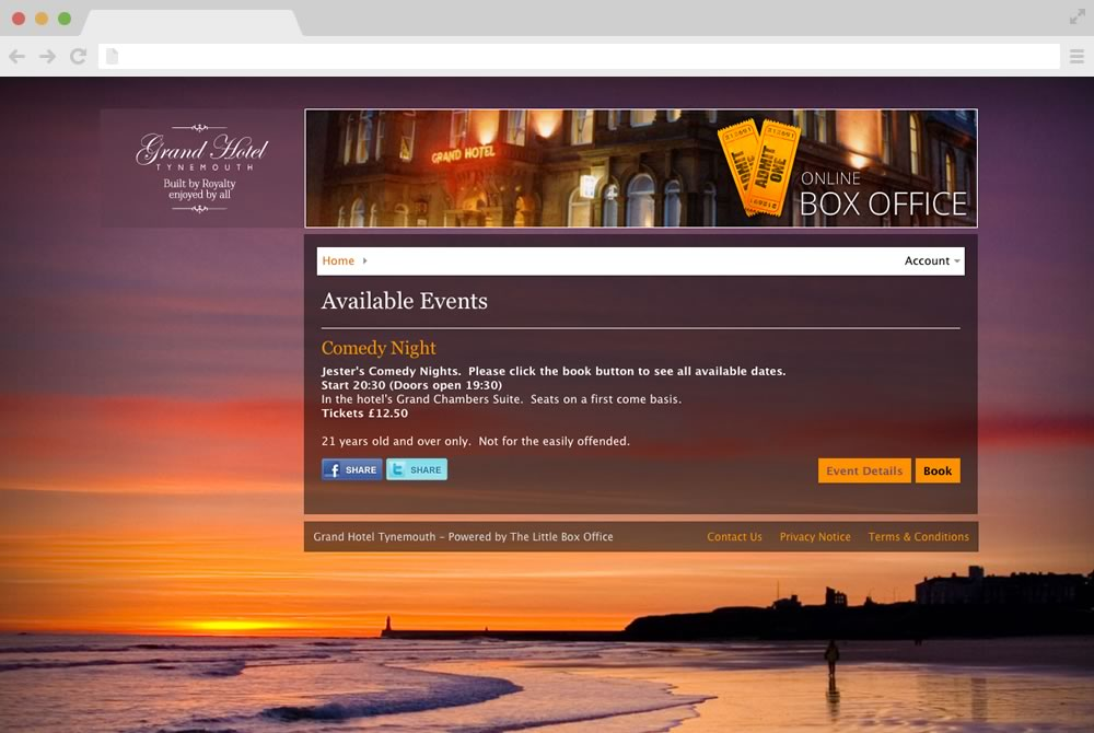 Box Office Software Online Ticketing Systems Theatre Etickets Solutions The Little Box Office